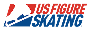 United States Figure Skating Button and Link